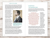 Example of typesetting of self published book Outback by James Vickery - full colour interior