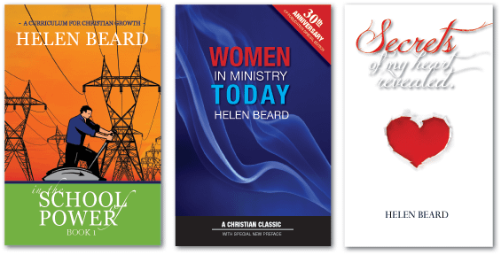 Helen Beards self published christian books
